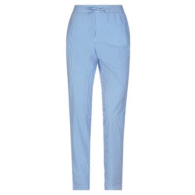 BOUTIQUE MOSCHINO パンツ ブルー 44 ナイロン 50% / コットン 37% / ポリウレタン 13% パンツ