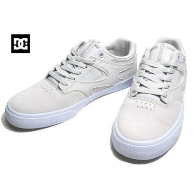ディーシーシューズ DC SHOES DM201012 KALIS VULC グレーホワイト スケートシューズ スニーカー メンズ 靴