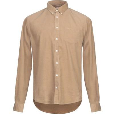 サン シックスティーエイト SUN 68 メンズ シャツ トップス solid color shirt Beige