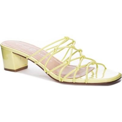 チャイニーズランドリー CHINESE LAUNDRY レディース サンダル・ミュール スライドサンダル シューズ・靴 Lizza Slide Sandal Keylime Faux Leather