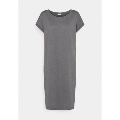 ヴィラ ワンピース レディース トップス VIDREAMERS KNEE DRESS  - Jersey dress - medium grey melange