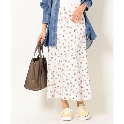 SHIPS for women / シップスウィメン SHIPS any:ドットフラワーロングスカート