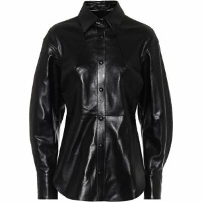 イザベル マラン Isabel Marant レディース ブラウス・シャツ トップス Xiao leather shirt Black