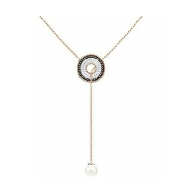 おしゃれ 個性的 高品質 ネックレス スワロフスキー Swarovski Lollypop Y NecklaceROS Pearl5414995
