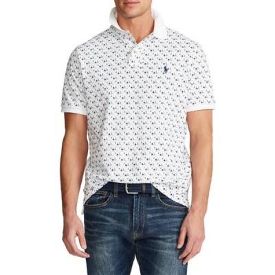 ラルフローレン メンズ シャツ トップス Classic Fit Mesh Polo Shirt