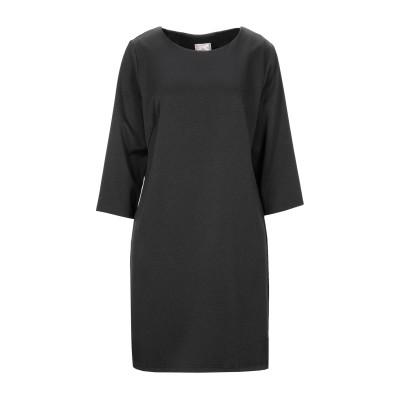 SWEET SECRETS ミニワンピース&ドレス ブラック 48 ポリエステル 95% / ポリウレタン 5% ミニワンピース&ドレス