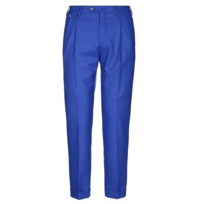 PT Torino パンツ ブライトブルー 50 バージンウール 100% パンツ