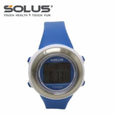 ソーラス 腕時計 SOLUS ウォッチ 01-850-005 ブルー メンズ レディース スポーツ ダイエット エクササイズ【国内正規品】【1年保証付】