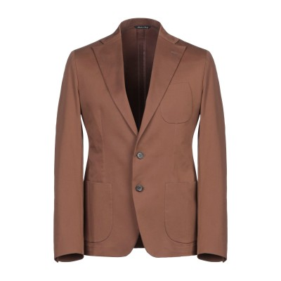 ブライアン デールズ BRIAN DALES テーラードジャケット ブラウン 48 コットン 97% / ポリウレタン 3% テーラードジャケット