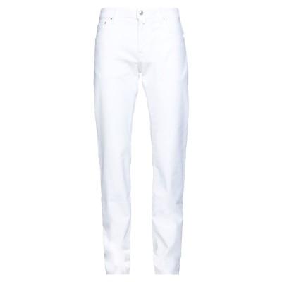 ヤコブ コーエン JACOB COHЁN パンツ ホワイト 33 コットン 98% / ポリウレタン 2% パンツ