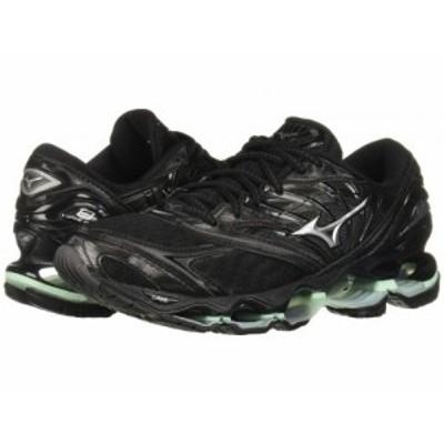 Mizuno ミズノ レディース 女性用 シューズ 靴 スニーカー 運動靴 Wave Prophecy 8 Black/Silver【送料無料】