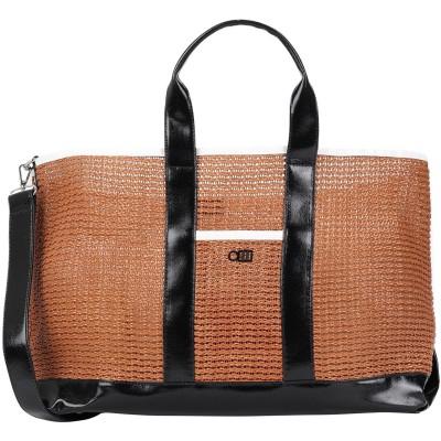 SOLID & STRIPED メッセンジャーバッグ ブラウン ポリ塩化ビニル 90% / Textilene® 10% メッセンジャーバッグ