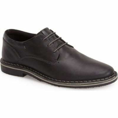 スティーブ マデン STEVE MADDEN メンズ 革靴・ビジネスシューズ ダービーシューズ シューズ・靴 Harpoon Derby Black Leather