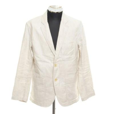 H.R.MARKET ハリウッドランチマーケット 2Bシングルジャケット サイズ2 日本製 メンズ ホワイト