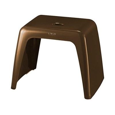 アスベル 風呂椅子 リアロ 高さ30cm Ag 抗菌 ブラウン