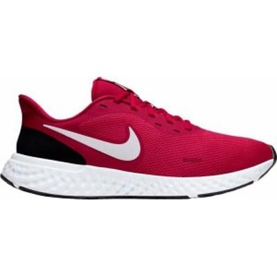 ナイキ メンズ スニーカー シューズ Nike Men's Revolution 5 Running Shoes Red/White/Black