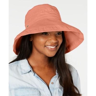 スカラ Scala レディース ハット ブリムハット サンハット 帽子 Cotton Big Brim Sun Hat Grapefruit