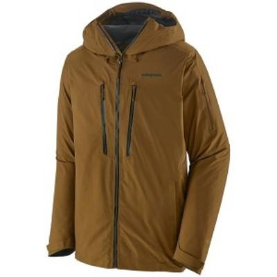 パタゴニア メンズ ジャケット・ブルゾン アウター Patagonia PowSlayer Jacket Mulch Brown