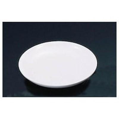 メラミン 給食用パン皿 No.44B 白 RPV101B
