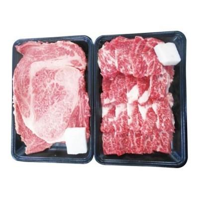 内祝い ギフト 松阪牛 ロースステーキ&バラ焼肉セット RST34/BY40-MA(メーカー直送 送料無料 代引不可 結婚 入学祝 ギフト)
