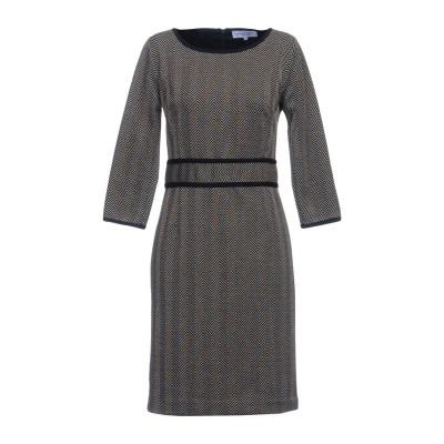 ANNA RACHELE ミニワンピース&ドレス ブラック 44 ポリエステル 80% / コットン 14% / ナイロン 3% / ポリウレタン
