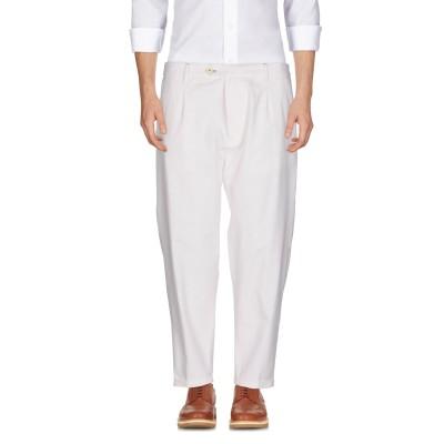 OFFICINA 36 パンツ ホワイト 44 97% コットン 3% ポリウレタン パンツ