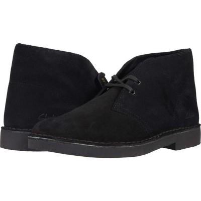 クラークス Clarks メンズ ブーツ シューズ・靴 Desert Boot 2.0 Black Suede