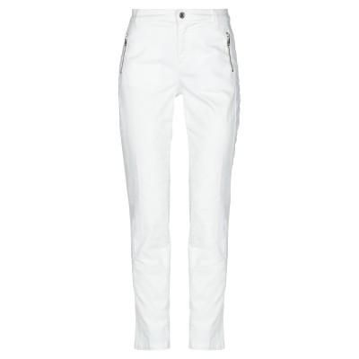 リュー ジョー LIU •JO パンツ ホワイト 25 コットン 96% / ポリウレタン 4% パンツ