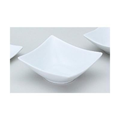 洋陶オープン 洋食器 / フレグランス3 (中国製) 角型ボウルL白 寸法:14.2 x 14.2 x 5.5cm