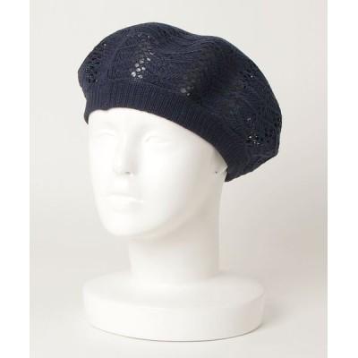BEAMS WOMEN / Ray BEAMS / クロッシェ ベレー WOMEN 帽子 > ハンチング/ベレー帽