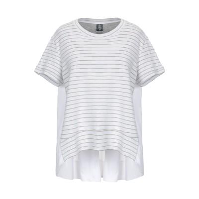 イレブンティ ELEVENTY T シャツ ホワイト S コットン 88% / ナイロン 7% / レーヨン 3% / ポリエステル 2% T シャツ