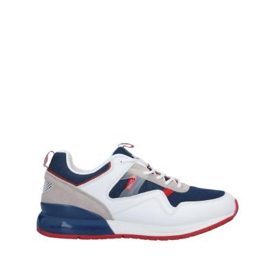 リプレイ REPLAY スニーカー&テニスシューズ(ローカット) ブルー 40 紡績繊維 / 革 スニーカー&テニスシューズ(ローカット)