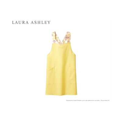 LAURA ASHLEY LW502 エプロン(女性用) ナースウェア・白衣・介護ウェア