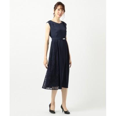 【エニィスィス】 サイドレースジュエル ドレス レディース ネイビー 2 any SiS