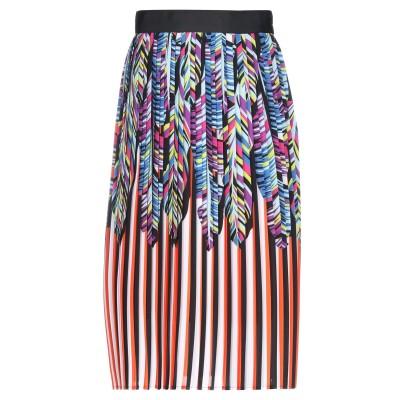 シルビアンヒーチ SILVIAN HEACH ひざ丈スカート ブルー XXS ポリエステル 100% ひざ丈スカート