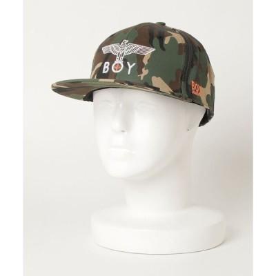 帽子 キャップ 【BOY LONDON】EAGLE BOY カモフラージュキャップ