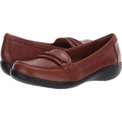 クラークス Clarks レディース ローファー・オックスフォード シューズ・靴 Ashland Lily Dark Tan Leather