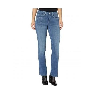 NYDJ Petite エヌワイディージェー レディース 女性用 ファッション ジーンズ デニム Petite Marilyn Straight Jeans in Hobie - Hobie