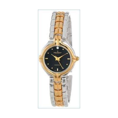 Peugeot Women's 775TT Two-Tone Genuine Diamond Bracelet Watch並行輸入品