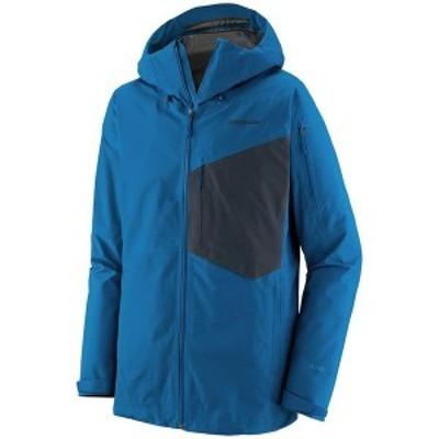 パタゴニア メンズ ジャケット・ブルゾン アウター Patagonia Snowdrifter Jacket Andes Blue