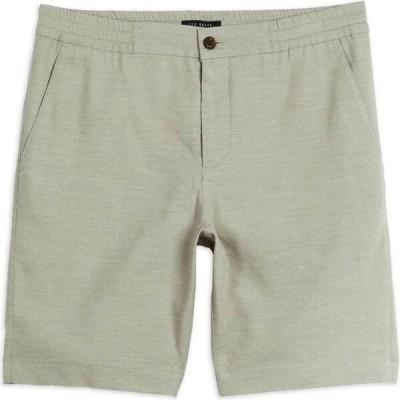 テッドベーカー Ted Baker メンズ ショートパンツ ボトムス・パンツ Dewwy Linen Drawstring Short STONE