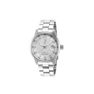 メンズ 腕時計 インヴィクタ New Invicta 15259 I-force Mens Silver Dial Date Window Steel Bracelet Watch