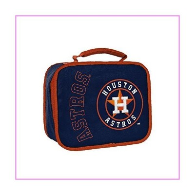 "MLB Houston Astros ""Sacked"" Lunch Kit, 10.5"" x 8.5"" x 4""【並行輸入品】"