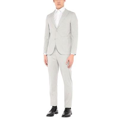 BARBATI スーツ ライトグレー 50 コットン 98% / ポリウレタン 2% スーツ