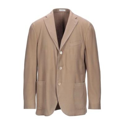 ボリオリ BOGLIOLI テーラードジャケット キャメル 56 バージンウール 100% テーラードジャケット