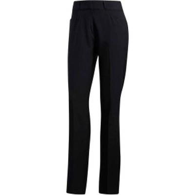 アディダス レディース カジュアルパンツ ボトムス adidas Women's Full-Length Golf Pant Black