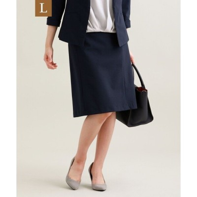 スカート 【L】【セットアップ対応】【美Skirt】【UV対策】【ウォッシャブル】コードレーンストライプスカート