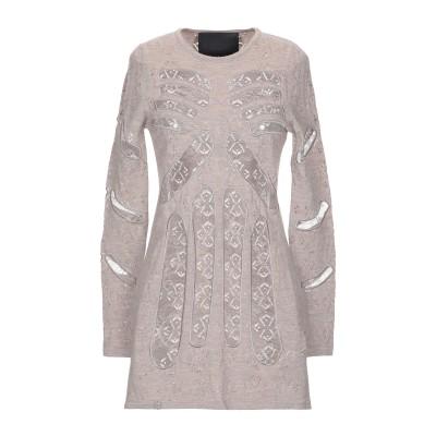 PHILIPP PLEIN ミニワンピース&ドレス カーキ S ウール 90% / ナイロン 10% ミニワンピース&ドレス