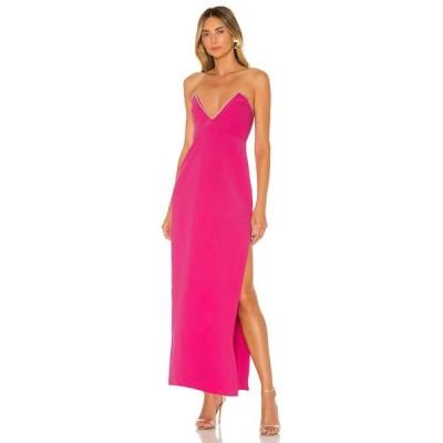 エヌビーディー NBD レディース パーティードレス ワンピース・ドレス Tarry Gown Fuchsia