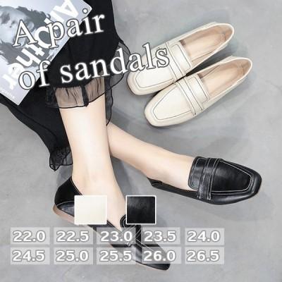 フラットシューズ パンプス ローヒール レディース パーティー フォーマル 結婚式 靴 美脚 シューズ サンダル ミュール 30代 40代 50代 上品 おしゃれ